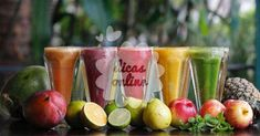 Receitas de 5 sucos que vão revolucionar o seu metabolismo. Não perca! Estilo Kylie Jenner, Food And Drink, Apple, Vegetables, Health, Blog, Milkshakes, Everton, Cocktail
