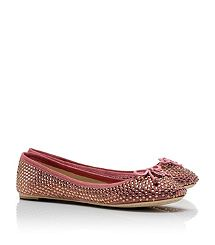 Crystal Chelsea Ballet Flats,,,but in navy!  Can't wait to get them in the mail!  Merry Christmas to ME!