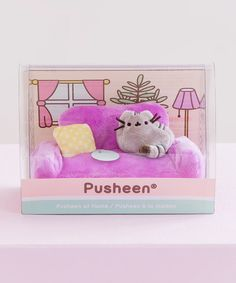 Pusheen Shop, Pusheen Cute, Pusheen Stuff, Plush Couch, Cat Couch, My Little Pony Bedroom, Aesthetic Objects, Baby Guinea Pigs, Cute Patches