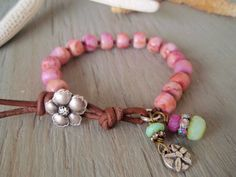 Pink bracelet - Island Boho