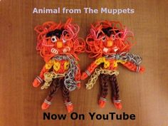 Muppets Animal loom bands