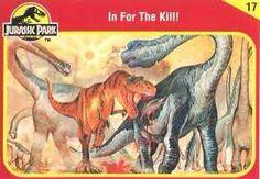 Jurassic World Trading Cards