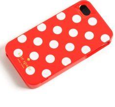 Kate Spade iPhone 5 Case Red Polka Dot NWT Hardshell