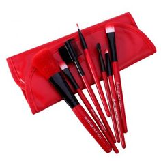 Cheap cosmetic brush set, Buy Quality brush set directly from China set beauty Suppliers: O.O Cosmetics Brush Set Beauty Eye Primer Powder Blush Brush Soft Synthetic Hair With PU Leather Case Send Random Makeup Brush Price, Makeup Brush Cleaner, Makeup Brush Set, Hair Brush, Make Up Geek, Eye Makeup, Soft Makeup, Beauty Makeup, Hair Makeup