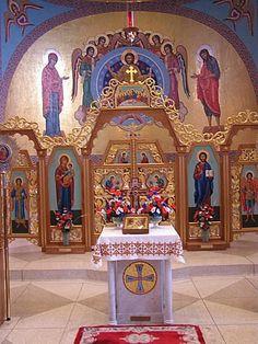 Byzantine Catholic Churches in Pennsylvania Catholic Altar, Catholic Churches, Roman Catholic, Byzantine Architecture, Church Architecture, Cathedral Basilica, Cathedral Church, Orthodox Prayers, Church Pictures