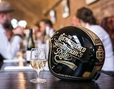 Custom helmet #davida #distinguishedgentlemensride #mmxv #bsmc
