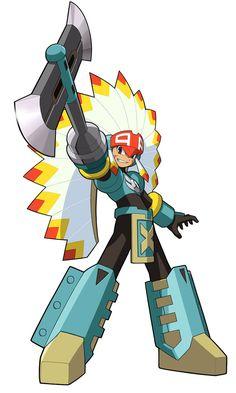 TomahawkMan.EXE - Characters & Art - Mega Man Battle Network 5
