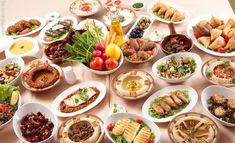 33 Vegan Middle Eastern Recipes - Eluxe Magazine - Food: Lay Off Me, I'm Starving - Vegan Dessert Recipes, Delicious Vegan Recipes, Raw Food Recipes, Vegan Food, Dessert Food, Food Food, Lebanese Recipes, Turkish Recipes, Lebanese Cuisine