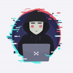 Anonymous hacker with flat design Free Vector Flat Design, Logo Design, Design Plano, Proxy Server, Cyber Attack, Hacks, Images Wallpaper, Vulnerability, Illustration