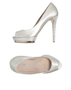 LE SILLA Pumps with open toe love the length height