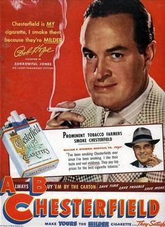 Bob Hope for Chesterfield