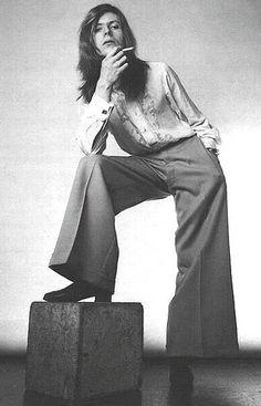 В 1970-е начал развиваться стиль унисекс