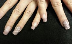 Simple and elegant!  Gettintipsynails.com