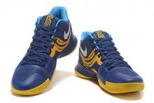 best sneakers 632f7 f2dc6 2017 Brand New Nike Kyrie 3 Blue Yellow PE Vs Wizards For Sale