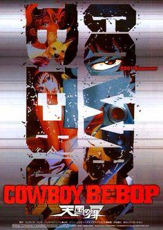 Cowboy Bebop: Knockin' on Heaven's Door (2001) poster art