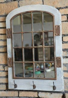FRENCH PROVINCIAL - SHABBY CHIC-RUSTIC STYLE WOOD FRAMED w/hooks | Mirrors | Gumtree Australia Mitcham Area - Colonel Light Gardens | 1...