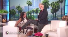 Kerry Washington popped by The Ellen DeGeneres Show on Thursday to discuss her…