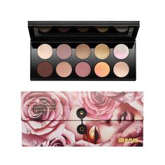Too expensive, but would love to try to find similar eyeshadow colors! Eye Palette, Makeup Palette, Power Of Makeup, Indoor Plant Pots, Flat Brush, Dose Of Colors, Pat Mcgrath, Makeup Obsession, Fantasy Makeup