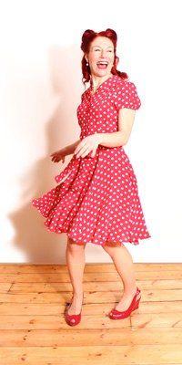 TheSeamstressOfBloomsbury Vintage 1940s Style Dresses