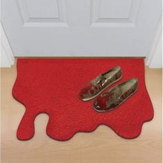 Buy Funny Doormats Online For Sale Cool Doormats Birthday, Christmas Horror Gifts off Doormat in Blood Red, Gifts in High Quality from The Smithers of Stamford Brand UK online shop Cool Doormats, Funny Doormats, Dry Sense Of Humor, Deco Originale, Sang, Black Friday Shopping, Pvc Material, Halloween Kostüm, Halloween Parties