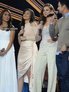 This is Kathryn Bernardo, Liza Soberano, Bea Alonzo, and Piolo Pascual doing their hosting stint after the Parade of Star Magic Talents during Star Magic Day and Star Magic 23rd Anniversary on ASAP at ABS-CBN Studio 10 last July 26, 2015. Indeed, they're another of my favourite Kapamilyas and they're amazing Star Magic talents. #KathrynBernardo #TeenQueen #LizaSoberano #AteHopie #LizKath #BeaAlonzo #PioloPascual #StarMagic23 #starmagic23rdanniversary #ASAP20 Magic Day, Star Magic, Child Actresses, Child Actors, Bea Alonzo, Born Again Christian, Liza Soberano, Kathryn Bernardo, All Grown Up