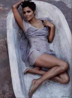 Halle Berry - she's a gorgeous and very talented actress.