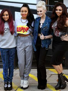 Little Mix Interview on Style and Boyfriends - Little Mix Music Fashion Quotes - Seventeen