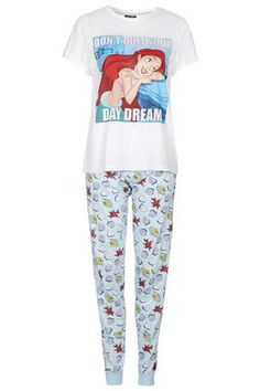 Ariel Print Pyjama Set