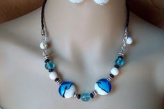 Turquoise Black and White Set by martin68 on Etsy, $25.00