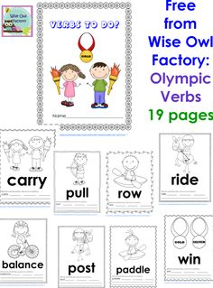 Blog post at Wise Owl Factory : Free Printable Summer Olympics Writing Frames This post has a free printable Summer Olympics Writing Frame PDF. Abook that could be consu[..]