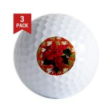 Christmas Golf Ball