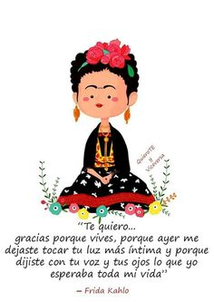 Risultati immagini per frida kahlo caricatura frases Diego Rivera, Blog Couture, More Than Words, Spanish Quotes, Oeuvre D'art, Favorite Quotes, Favorite Things, Me Quotes, Frida Quotes