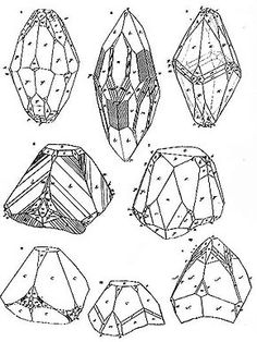 Mineral drawings