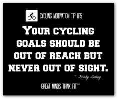 Cycling Motivation Tip and Quote #015