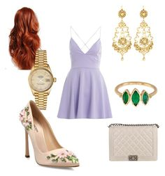 Designer Clothes, Shoes & Bags for Women Indie Hair, Giambattista Valli, Rolex, Chanel, Paris, Shoe Bag, Polyvore, Stuff To Buy, Shopping