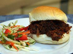 Spicy Hoisin Pulled Pork Sandwich Recipe