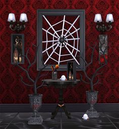 Gothic Decor set. Sims 4. Includes 7 decorative objects. 1 color variation. Download If you like my content, don't hesitate to donat...