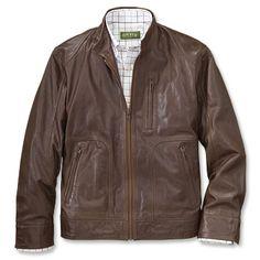 Orvis Lambskin Leather Jacket