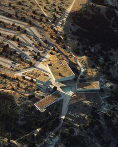 Snøhetta, Studio Gang and Henning Larsen unveil designs for Theodore Roosevelt Presidential Library Theodore Roosevelt National Park, Henning Larsen, Presidential Libraries, Museum, Exhibition Space, Picture Wall, Airplane View, National Parks, Landscape