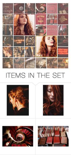 """""""[HSWW] No, I'm not a Weasley!"""" by dashingpirate ❤ liked on Polyvore featuring art"""