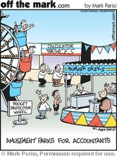 Amusement parks for #accountants #accounting #humor