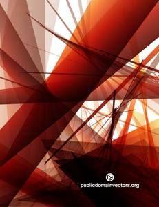 Vector graphics of random geometric shapes.