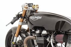 Triumph Thruxton Salt Racer ~ Return of the Cafe Racers