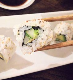 Sure I'll take one or sushi. (I'M SORRY).