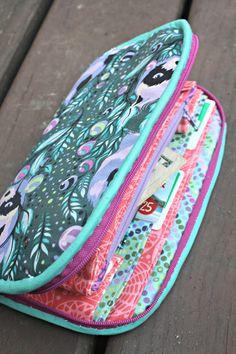 Greenbacks Wallet Trio sewing pattern || Sew Sweetness