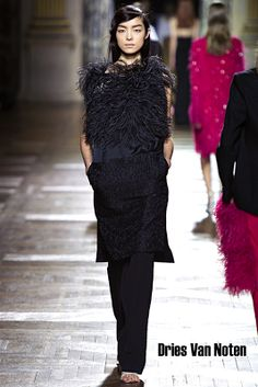 Feathers will be really trendy this A/W 2013-2014 season