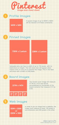 Check out our complete guide to image sizes on Pinterest, and make remembering different photo dimensions a thing of the past.