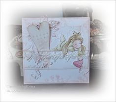 Handmade by Krista: Valentijn Stamps, Frame, Cards, Handmade, Home Decor, Hand Made, Homemade Home Decor, Decoration Home, Stamp