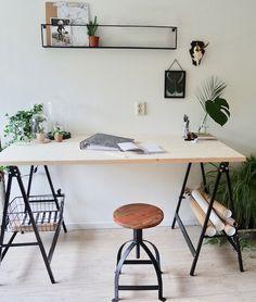 Industriële basics voor een stoere werkplek - Blog van KARWEI