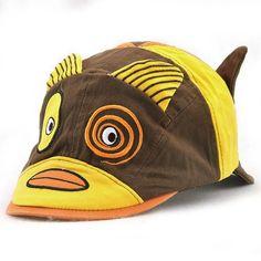 2b7d68aad1f96 Kids Cotton Cute Animal Pattern Beret Cap Patchwork Casual Outdoor Sun  Patch Flat Hat